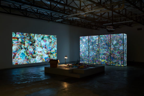 Installation at Dallas Contemporary. Photo by Kevin Todora