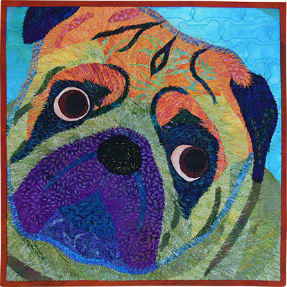 A quilt by Sarah Ann Smith