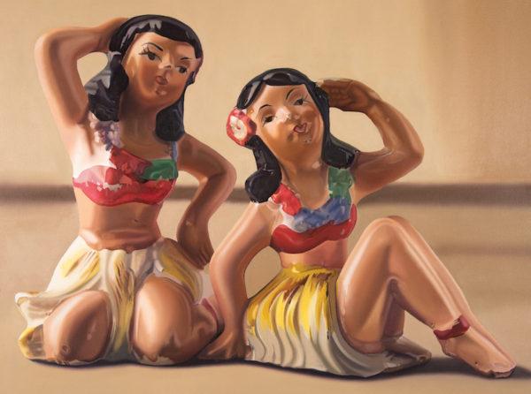 """John Hartley, Aloha, Oil on canvas, 30 x 40"""""""