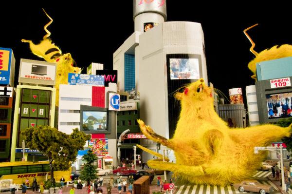 Chim↑Pom SUPER RAT 2006, 2011 Photo:Yoshimitsu Umekawa © Chim↑Pom Courtesy of the artist and MUJIN-TO Production, Tokyo