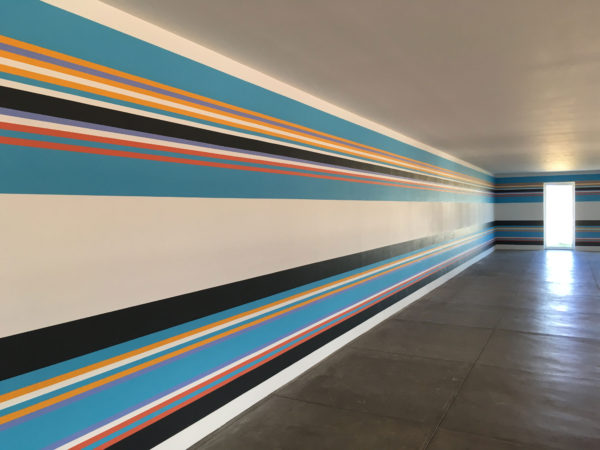 Bridget Riley at the Chinati Foundation