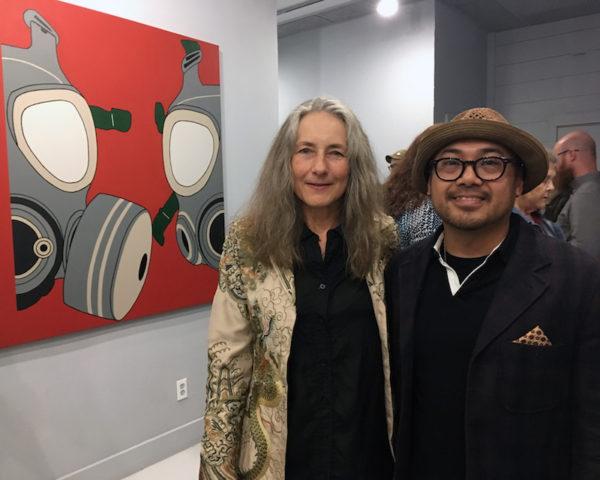 Andis Applewhite and Dandee Warhol