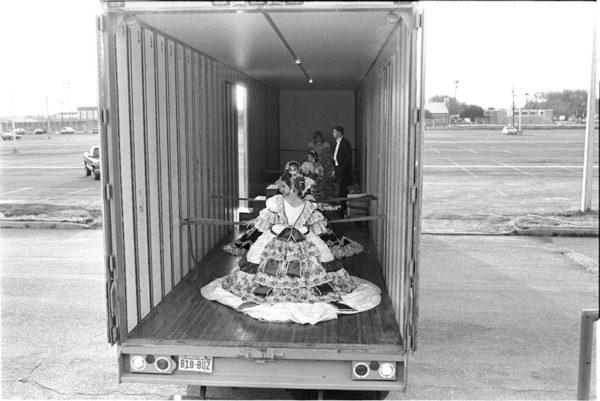 Debutantes Arriving at Ball, Laredo, Texas, February 19, 1993 Gelatin silver print