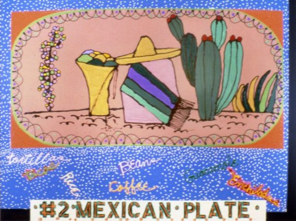 Humanscape 135: #2 Mexican Plate, 1984.
