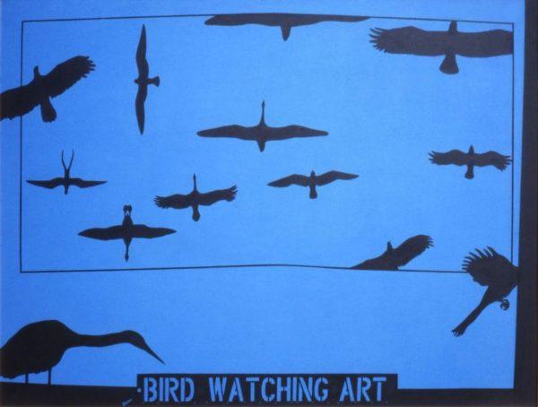 Humanscape 95: Bird Watching Art