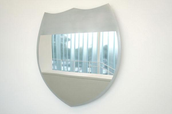 Untitled (Eisenhower Interstate System), 2017, Mirrored steel