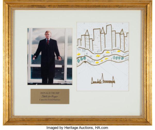 Trump drawing