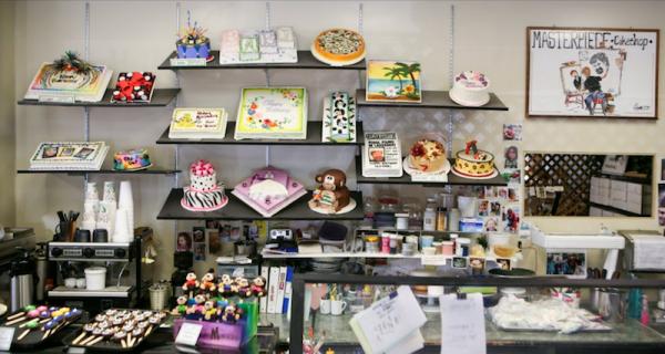Display, Masterpiece Cake Shop