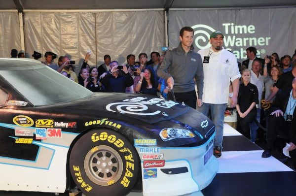 Nascar Cake by Duff Goldman (Yes, the car is an actual cake.)