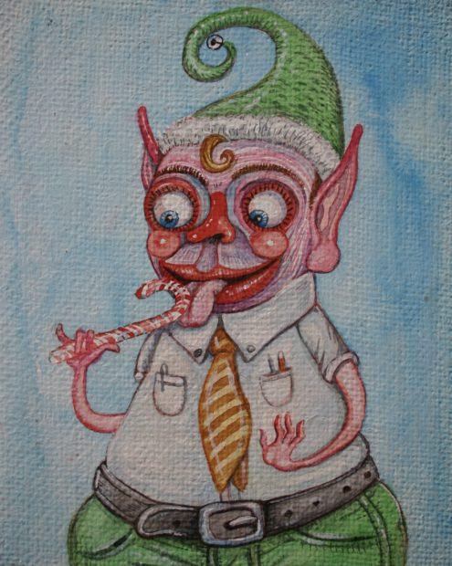 One of Brian Keith Jones' Crappity Elves