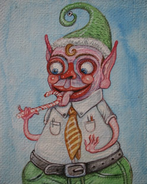 One of Brian Keith Jones' Crappity Elves