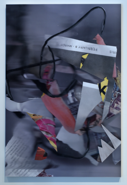 Liz Trosper body poems in suspended space_N+2 archival inkjet on Hahnemuhle canvas 2016