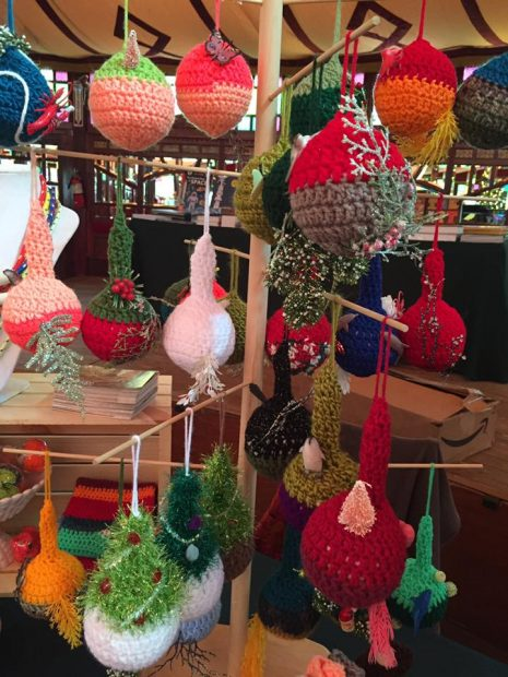 Ornaments by Elaine Bradford