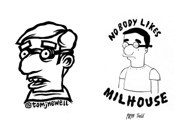 Milhouse From Memory Zine