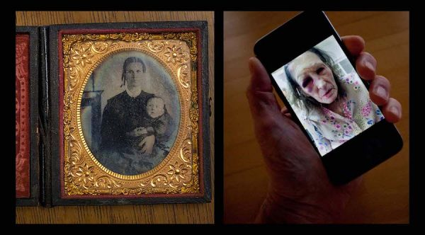 "Civil War to Cell Phones, 2016, Desoto, Texas, archival inkjet print, 20"" x 24"""