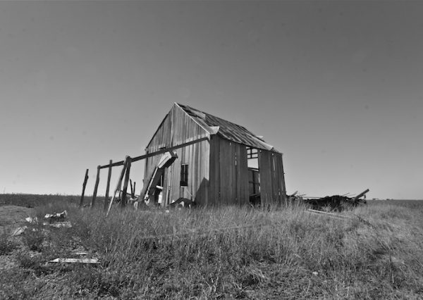 Mike Lehr's 100 year old barn in Wall, TX