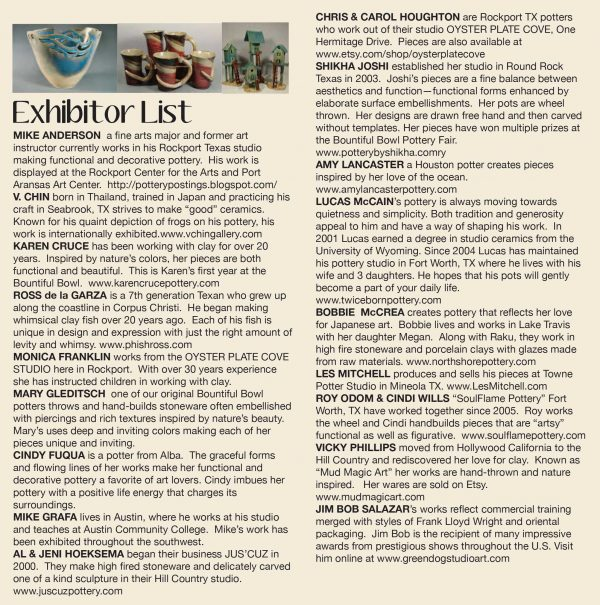 16th Annual Rockport Clay Expo