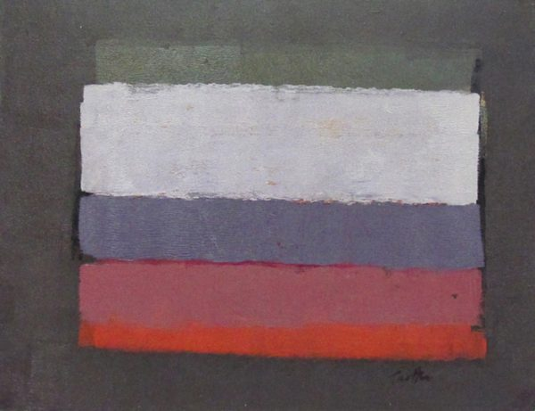 "Fields, c.1959, oil on masonite, 11"" x 14"", courtesy William Reaves | Sarah Foltz Fine Art LLC"