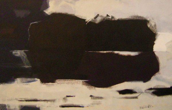 "Sea III, 1959, oil on canvas, 40"" x 63"", courtesy William Reaves | Sarah Foltz Fine Art LLC"