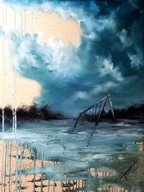 """No Rain"" by Daniel Elliott"