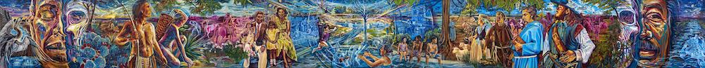 De Todos Caminos Somos Todos Uno (From All Roads, We Are All One), Adriana Garcia, courtesy San Antonio River Authority