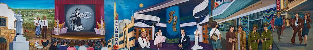 Bellos Recuerdos del Teatro Alameda y Tiempos Pasados (Beautiful Memories of the Alameda Theater and Times Passed), Joe Lopez, courtesy San Antonio River Authority