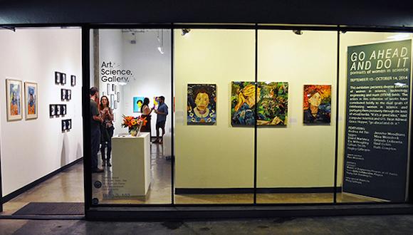 art science gallery