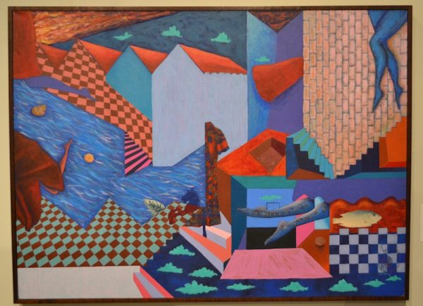 Entrance and Exit, 1987-1988, acrylic on canvas