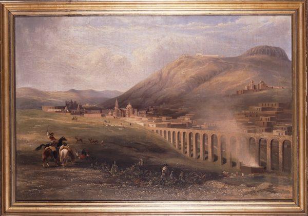 Daniel Thomas Egerton (England 1797-1842), View of Zacatecas from the Aqueduct (Vista de Zacatecas desde el acueducto), 1838