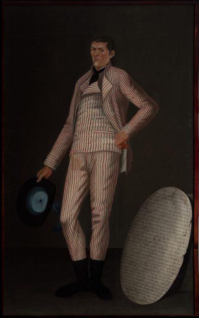 José María Guerrero (New Spain, active end of 18th – early 19th century) Martín, the Giant (El gigante Martín [Martín Salmerón y Ojeda]), 1796