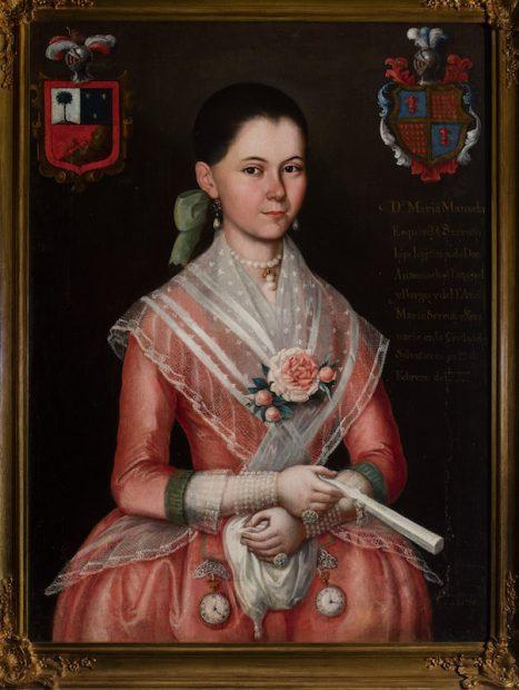 Ignacio María Barreda (New Spain, late 18th century) María Manuela Esquivel y Serruto, 1794