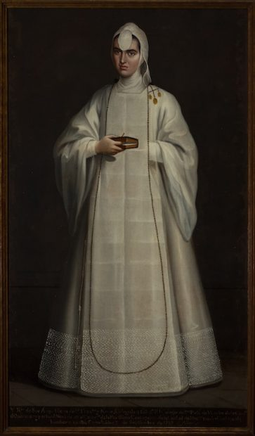 Artist unknown, New Spain Sor Ana María de San Francisco y Neve, ca. 1760
