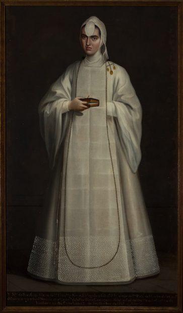 Artist unknown, New Spain Sor Ana María de San Francisco y Neve, ca. 1760