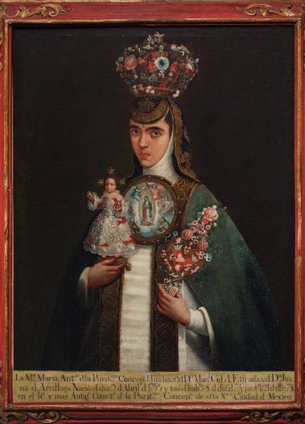 Artist unknown, New Spain Sister María Antonia of the Immaculate Conception (Sor María Antonia de la Purísima Concepción), late 18th century