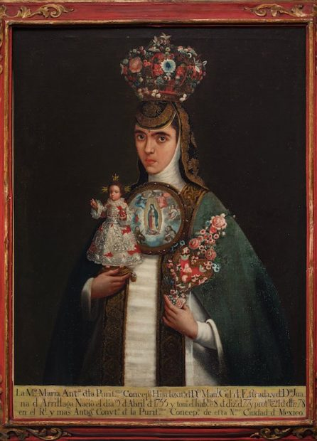 Artist unknown, New Spain Sister María Antonia of the Immaculate Conception (Sor María Antonia de la Purísima Concepción), late 18th century