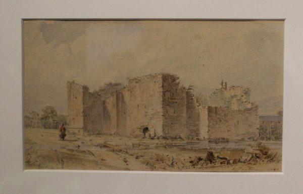 The Alamo, watercolor on paper, Seth Eastman, 1849