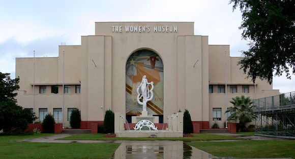 Women's museum in Dallas Texas home of the Vignette art fair
