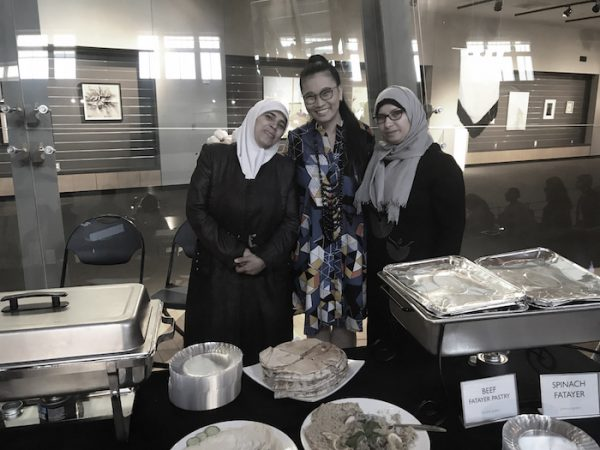 Break Bread Break Borders_Artist Jin-Ya Huang, Rania Almehd, Maryam Al Haw