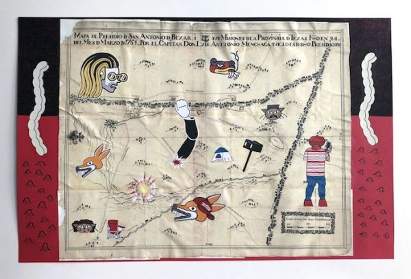 Mapa de San Antonio