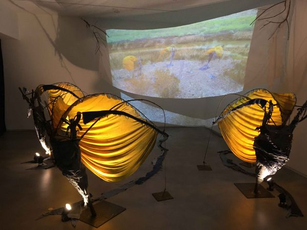 An installation and video piece by Jesus Gonzalez Jr.