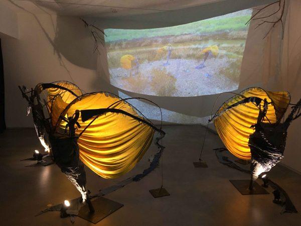 An installation and video piece by Jesus Gonzalez Jr.