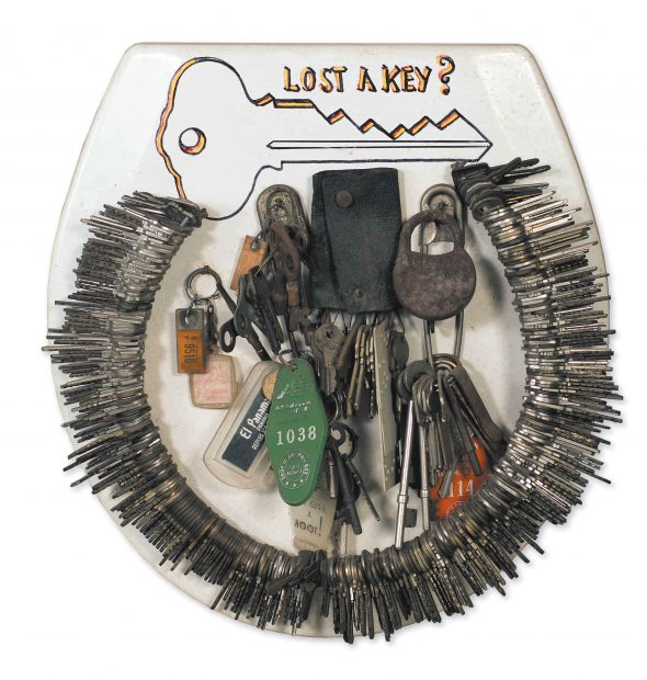 Lost a Key? toilet seat