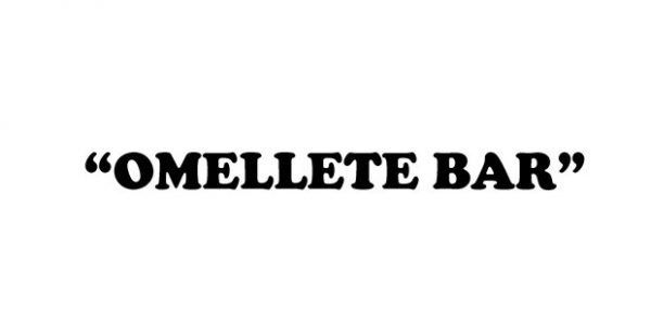 Shelby David Meier: Omellete Bar