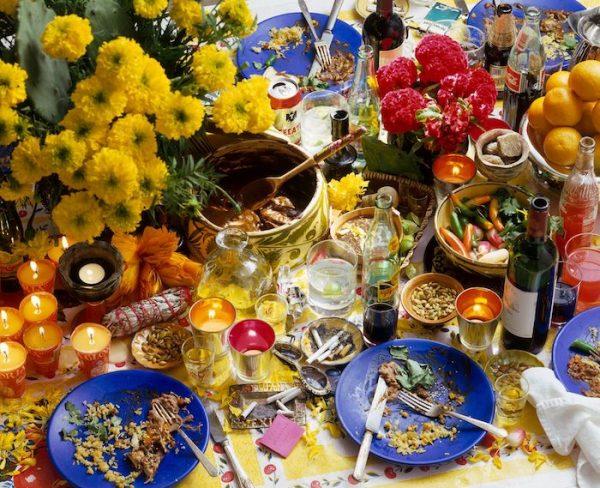 """Dia de Los Muertos,"" an image from Chuck Ramirez's ""Seven Days"""
