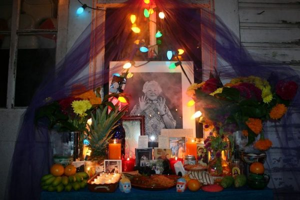 Ramirez's altar to his grandmother.