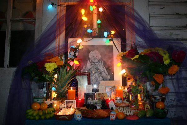 Ramirez's altar to his grandmother.
