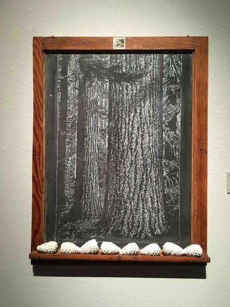 chalkboard piece by Altman