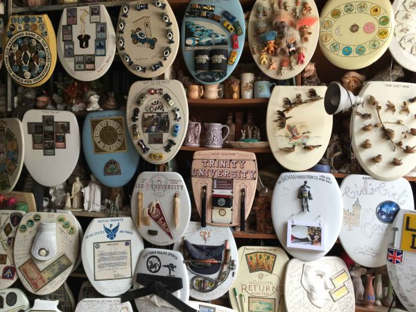 Barney Smith's Toilet Seat Art Museum in 2017