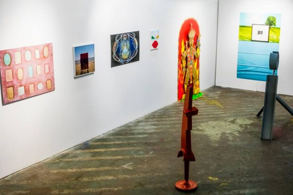 An installation view of the exhibition Grand Transubstantiation