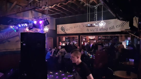 The venue: 12th Street Bar, Huntsville
